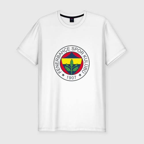 Мужская футболка хлопок Slim Фенербахче