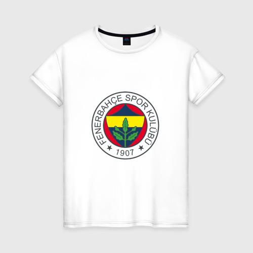 Женская футболка хлопок Фенербахче