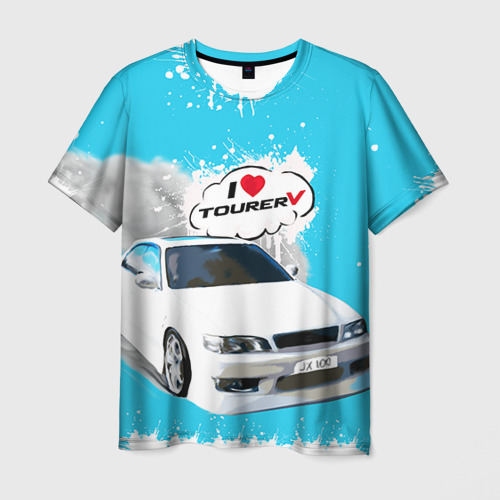 Мужская футболка 3D Tourer V