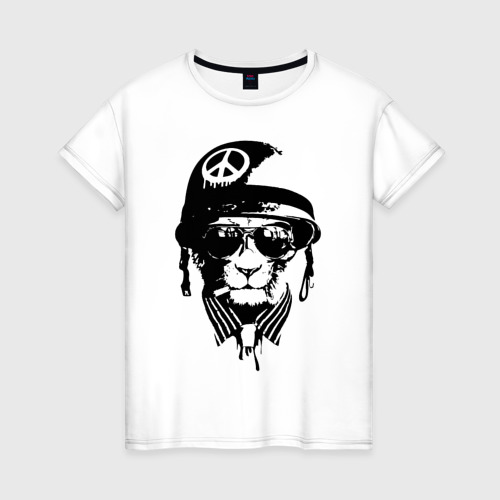 Женская футболка хлопок Pacific cat