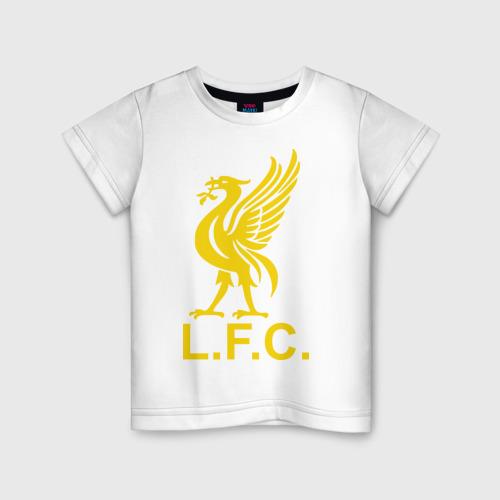 Детская футболка хлопок Liverpool Gerrard