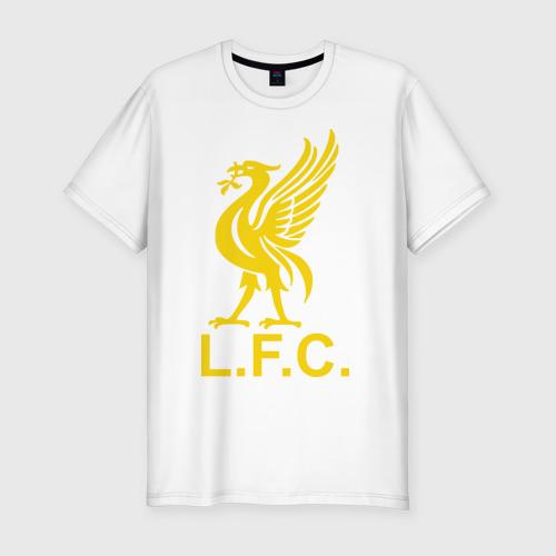 Мужская футболка хлопок Slim Liverpool Gerrard