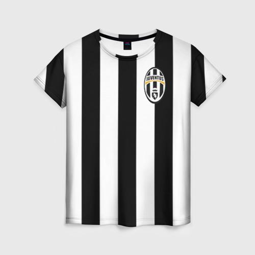 Женская футболка 3D Juventus Vidal