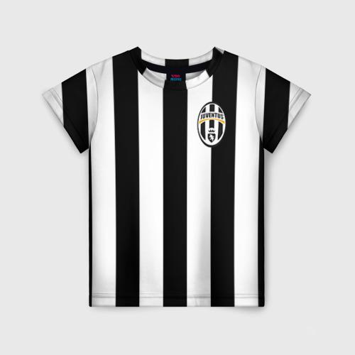 Детская футболка 3D Juventus Tevez
