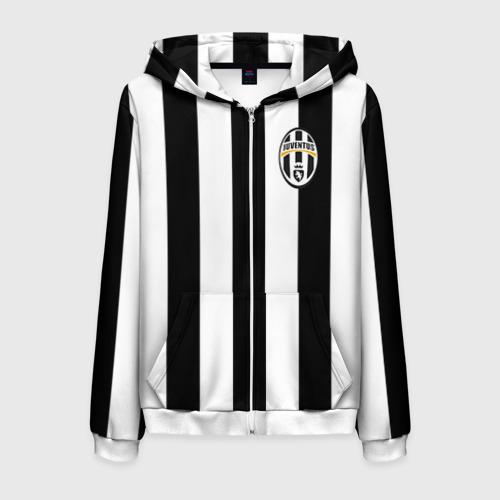 Мужская толстовка 3D на молнии Juventus Tevez