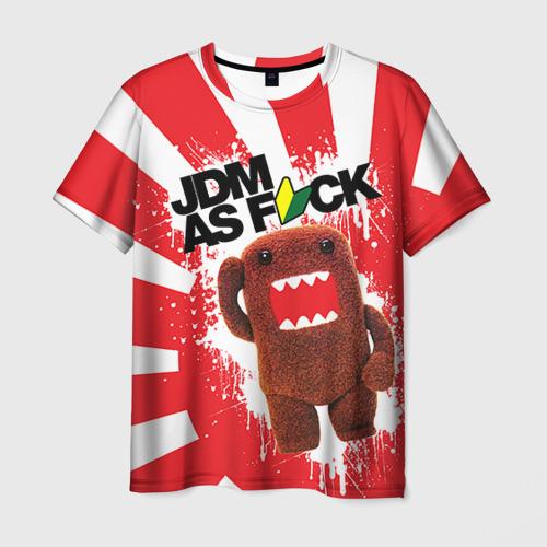 Мужская футболка 3D domo as f*ck