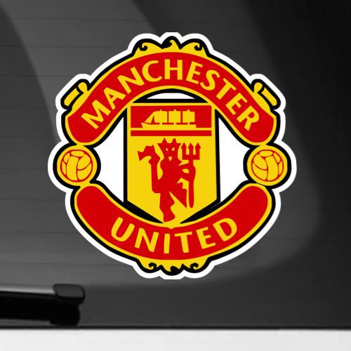 Наклейка на автомобиль Манчестер Юнайтед