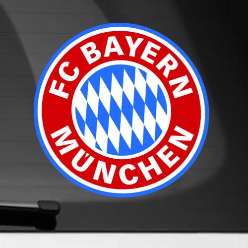 Наклейка на автомобиль Bavaria-Munchen