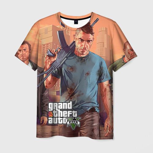 Мужская футболка 3D GTA