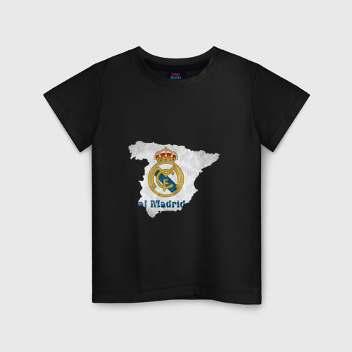 Детская футболка хлопок Реал Мадрид