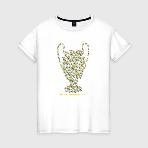 Женская футболка хлопок Real Madrid C.F.
