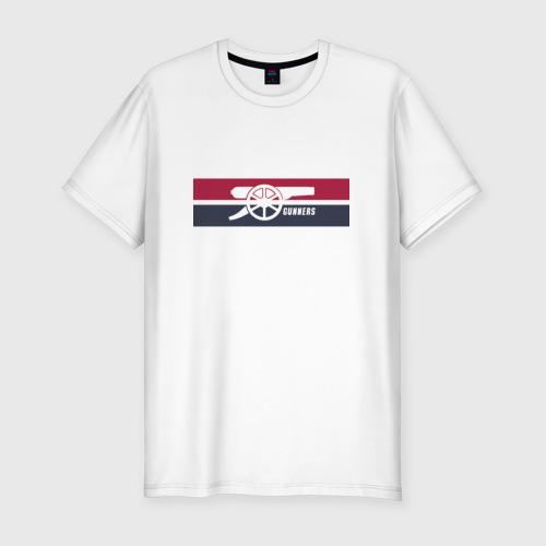 Мужская футболка хлопок Slim Arsenal Gunners
