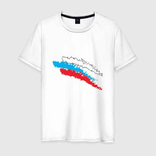 Мужская футболка хлопок Россия