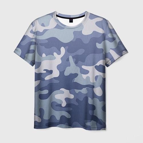 Мужская футболка 3D Камуфляж