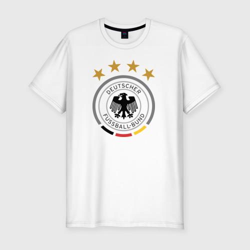 Мужская футболка хлопок Slim Сборная Германии