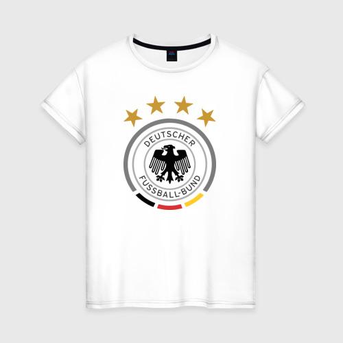 Женская футболка хлопок Сборная Германии