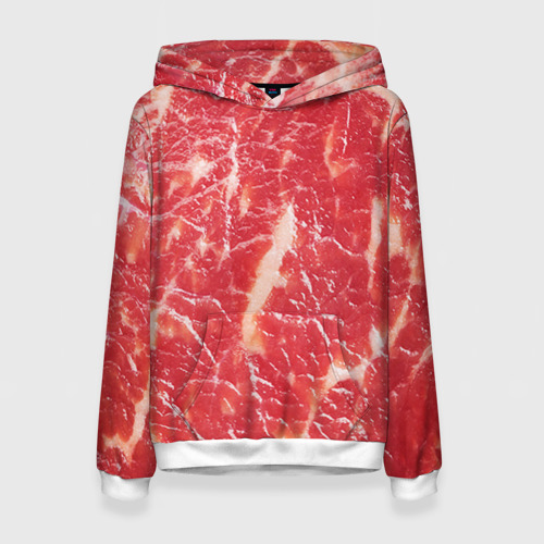 Женская толстовка 3D Мясо