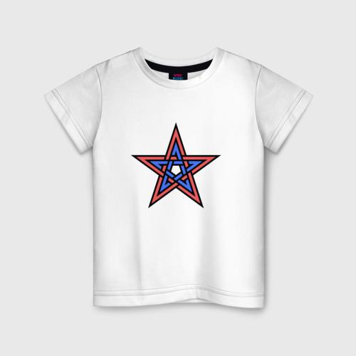 Детская футболка хлопок ЦСКА