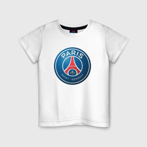 Детская футболка хлопок Paris Saint Germain