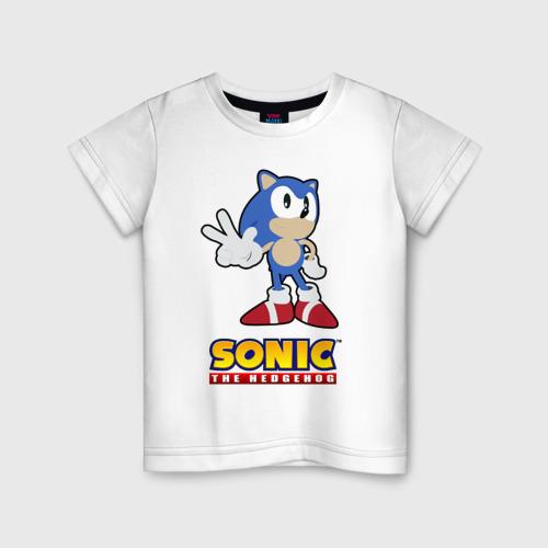 Детская футболка хлопок Old Sonic
