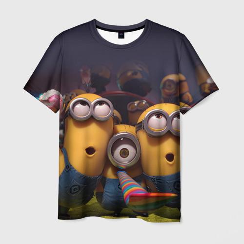 Мужская футболка 3D Вечеринка