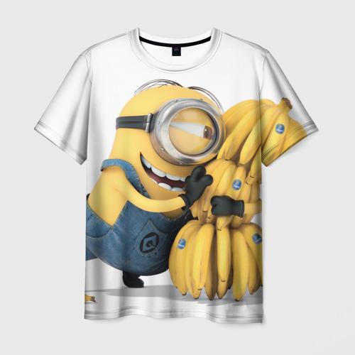 Мужская футболка 3D Банан