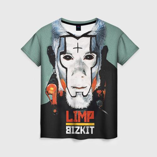 Женская футболка 3D Limp Bizkit