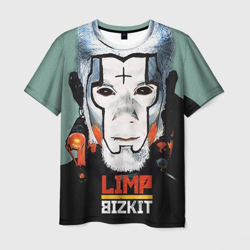 Мужская футболка 3D Limp Bizkit