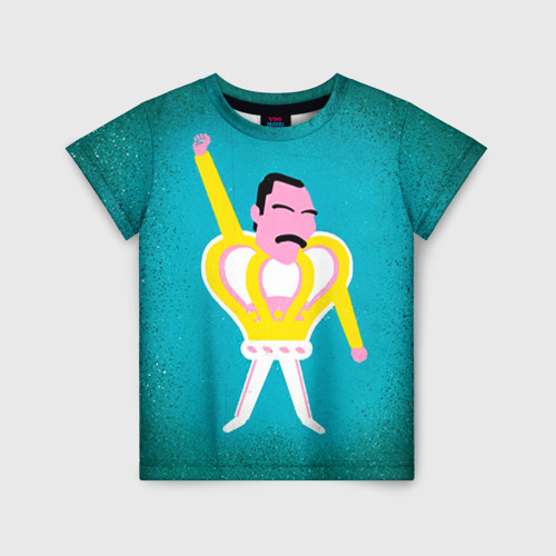 Детская футболка 3D Freddie Mercury