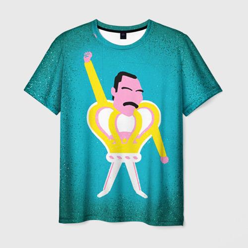 Мужская футболка 3D Freddie Mercury