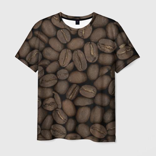 Мужская футболка 3D Кофе