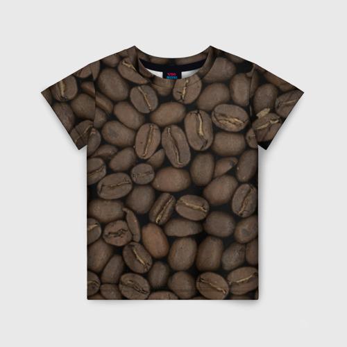 Детская футболка 3D Кофе