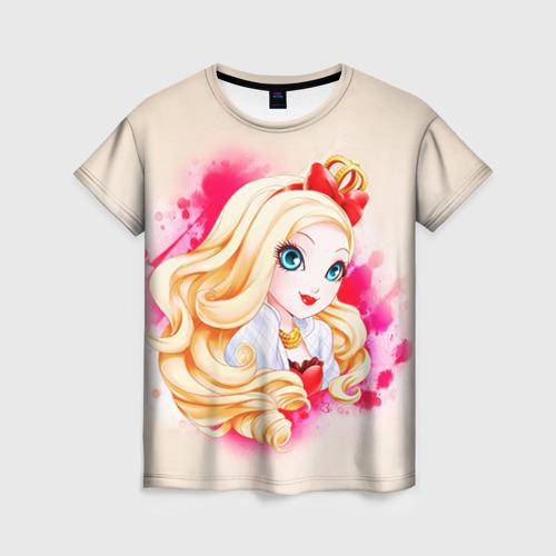 Женская футболка 3D Корона