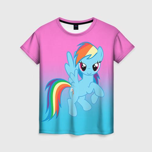 Женская футболка 3D My Little Pony
