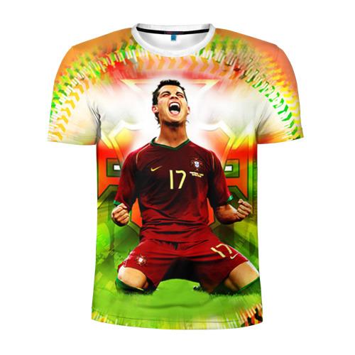 Мужская футболка 3D спортивная Роналдо