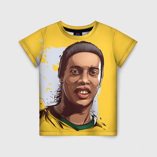 Детская футболка 3D Ronaldinho