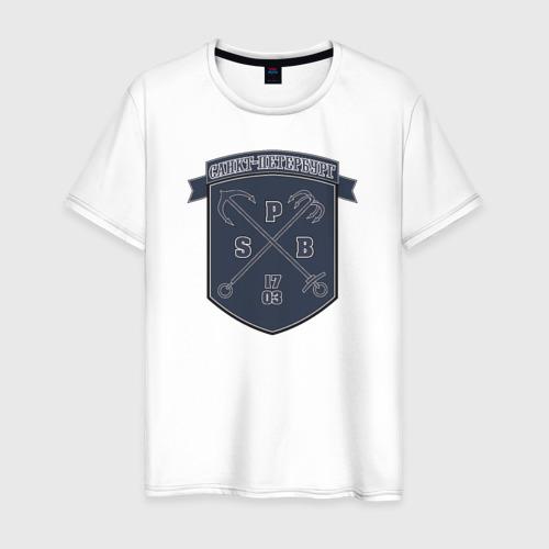 Мужская футболка хлопок Санкт-Петербург