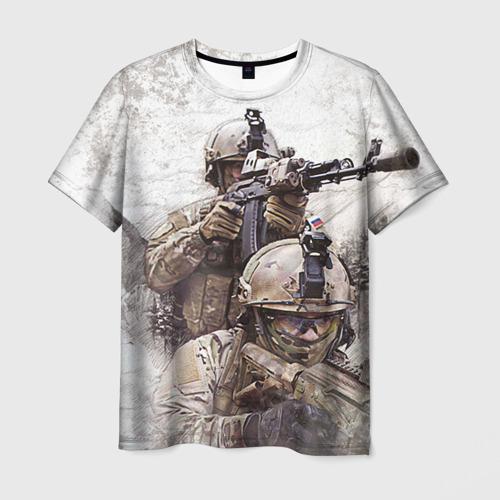 Мужская футболка 3D ФСБ Альфа