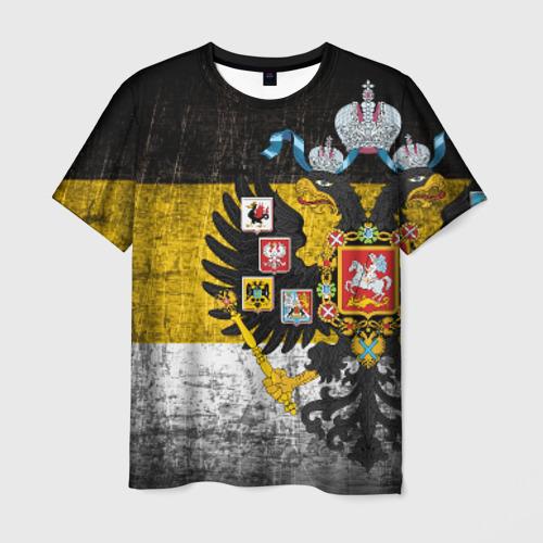 Мужская футболка 3D Имперский флаг