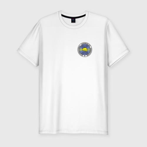 Мужская футболка хлопок Slim Taekwondo ITF