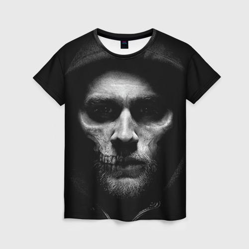 Женская футболка 3D Sons Of Anarchy
