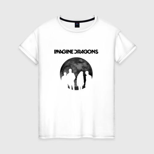 Женская футболка хлопок Imagine dragons