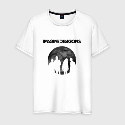 Мужская футболка хлопок Imagine dragons