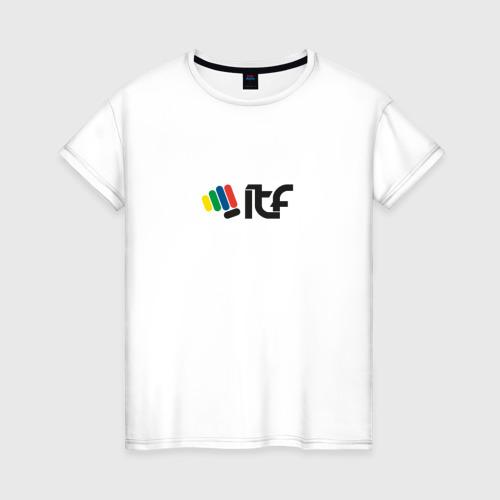 Женская футболка хлопок Taekwondo ITF