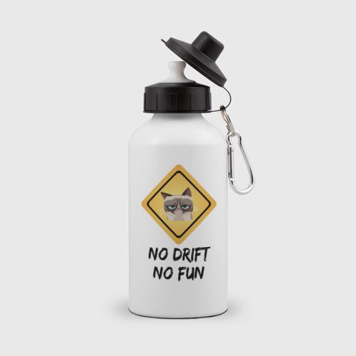 Бутылка спортивная No Drift No Fun