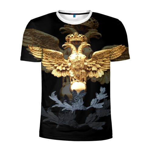 Мужская футболка 3D спортивная Золотой орел