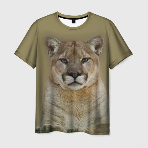 Мужская футболка 3D Пума