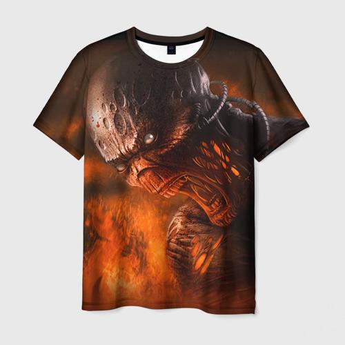 Мужская футболка 3D Doom imp