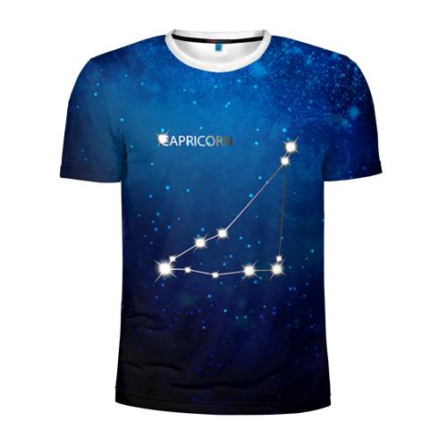 Мужская футболка 3D спортивная Козерог