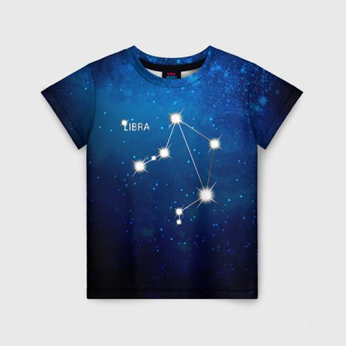 Детская футболка 3D Весы